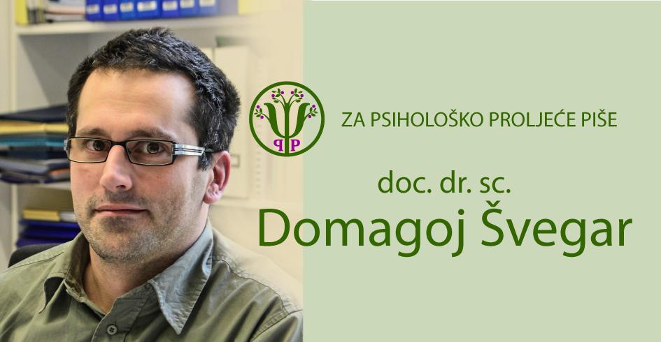 Autor Domagoj Švegar, psiholog